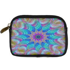 Fractal Curve Decor Twist Twirl Digital Camera Cases
