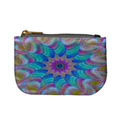 Fractal Curve Decor Twist Twirl Mini Coin Purses