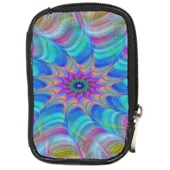 Fractal Curve Decor Twist Twirl Compact Camera Cases