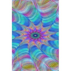 Fractal Curve Decor Twist Twirl 5 5  X 8 5  Notebooks