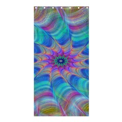 Fractal Curve Decor Twist Twirl Shower Curtain 36  X 72  (stall)