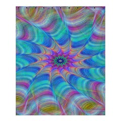 Fractal Curve Decor Twist Twirl Shower Curtain 60  X 72  (medium)