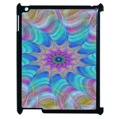 Fractal Curve Decor Twist Twirl Apple Ipad 2 Case (black)