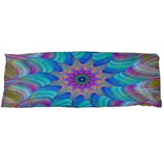 Fractal Curve Decor Twist Twirl Body Pillow Case (dakimakura)