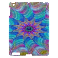 Fractal Curve Decor Twist Twirl Apple Ipad 3/4 Hardshell Case