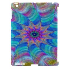 Fractal Curve Decor Twist Twirl Apple Ipad 3/4 Hardshell Case (compatible With Smart Cover)