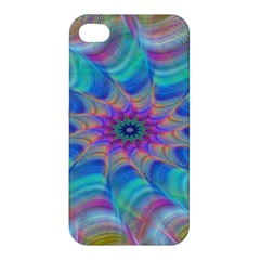 Fractal Curve Decor Twist Twirl Apple Iphone 4/4s Premium Hardshell Case