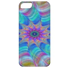 Fractal Curve Decor Twist Twirl Apple Iphone 5 Classic Hardshell Case