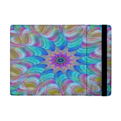 Fractal Curve Decor Twist Twirl Apple Ipad Mini Flip Case