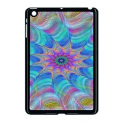 Fractal Curve Decor Twist Twirl Apple Ipad Mini Case (black)