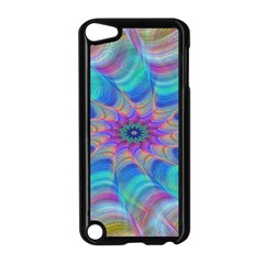 Fractal Curve Decor Twist Twirl Apple Ipod Touch 5 Case (black)