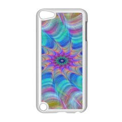 Fractal Curve Decor Twist Twirl Apple Ipod Touch 5 Case (white)
