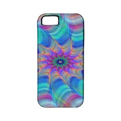Fractal Curve Decor Twist Twirl Apple Iphone 5 Classic Hardshell Case (pc+silicone)