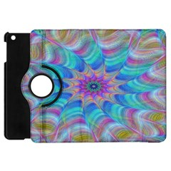Fractal Curve Decor Twist Twirl Apple Ipad Mini Flip 360 Case