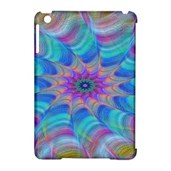 Fractal Curve Decor Twist Twirl Apple Ipad Mini Hardshell Case (compatible With Smart Cover)