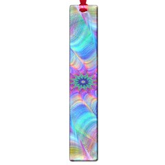 Fractal Curve Decor Twist Twirl Large Book Marks