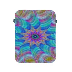 Fractal Curve Decor Twist Twirl Apple Ipad 2/3/4 Protective Soft Cases