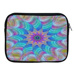 Fractal Curve Decor Twist Twirl Apple Ipad 2/3/4 Zipper Cases
