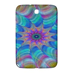 Fractal Curve Decor Twist Twirl Samsung Galaxy Note 8 0 N5100 Hardshell Case
