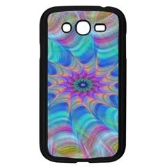 Fractal Curve Decor Twist Twirl Samsung Galaxy Grand Duos I9082 Case (black)