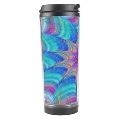 Fractal Curve Decor Twist Twirl Travel Tumbler