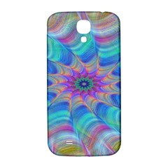 Fractal Curve Decor Twist Twirl Samsung Galaxy S4 I9500/i9505  Hardshell Back Case