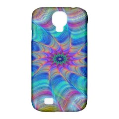 Fractal Curve Decor Twist Twirl Samsung Galaxy S4 Classic Hardshell Case (pc+silicone)