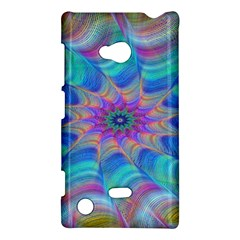 Fractal Curve Decor Twist Twirl Nokia Lumia 720