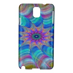 Fractal Curve Decor Twist Twirl Samsung Galaxy Note 3 N9005 Hardshell Case