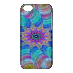 Fractal Curve Decor Twist Twirl Apple Iphone 5c Hardshell Case