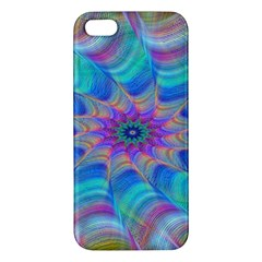 Fractal Curve Decor Twist Twirl Iphone 5s/ Se Premium Hardshell Case