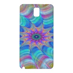 Fractal Curve Decor Twist Twirl Samsung Galaxy Note 3 N9005 Hardshell Back Case