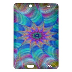 Fractal Curve Decor Twist Twirl Amazon Kindle Fire Hd (2013) Hardshell Case