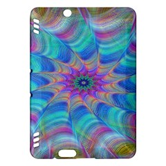 Fractal Curve Decor Twist Twirl Kindle Fire Hdx Hardshell Case