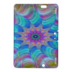 Fractal Curve Decor Twist Twirl Kindle Fire Hdx 8 9  Hardshell Case