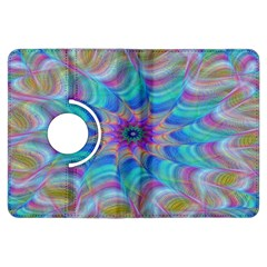 Fractal Curve Decor Twist Twirl Kindle Fire Hdx Flip 360 Case