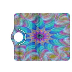 Fractal Curve Decor Twist Twirl Kindle Fire Hdx 8 9  Flip 360 Case