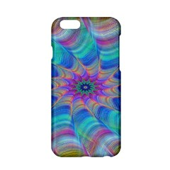 Fractal Curve Decor Twist Twirl Apple Iphone 6/6s Hardshell Case