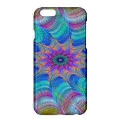 Fractal Curve Decor Twist Twirl Apple Iphone 6 Plus/6s Plus Hardshell Case