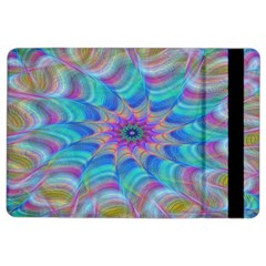 Fractal Curve Decor Twist Twirl Ipad Air 2 Flip