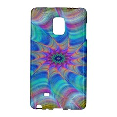 Fractal Curve Decor Twist Twirl Galaxy Note Edge