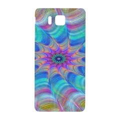 Fractal Curve Decor Twist Twirl Samsung Galaxy Alpha Hardshell Back Case