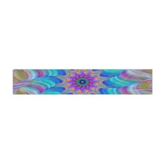 Fractal Curve Decor Twist Twirl Flano Scarf (mini)