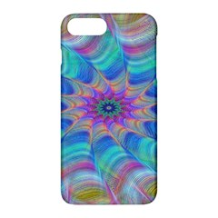 Fractal Curve Decor Twist Twirl Apple Iphone 7 Plus Hardshell Case