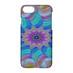 Fractal Curve Decor Twist Twirl Apple Iphone 7 Hardshell Case