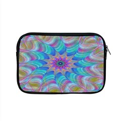 Fractal Curve Decor Twist Twirl Apple Macbook Pro 15  Zipper Case