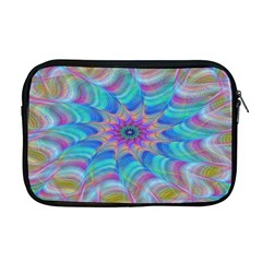 Fractal Curve Decor Twist Twirl Apple Macbook Pro 17  Zipper Case