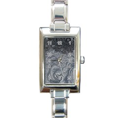 Abstract Art Decoration Design Rectangle Italian Charm Watch
