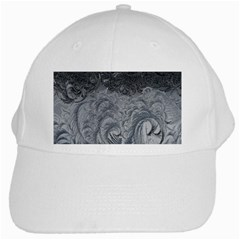 Abstract Art Decoration Design White Cap