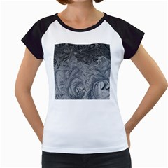 Abstract Art Decoration Design Women s Cap Sleeve T